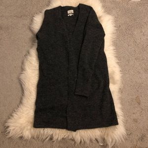 Wilfred Free Wool Blend Long Cardigan (m)